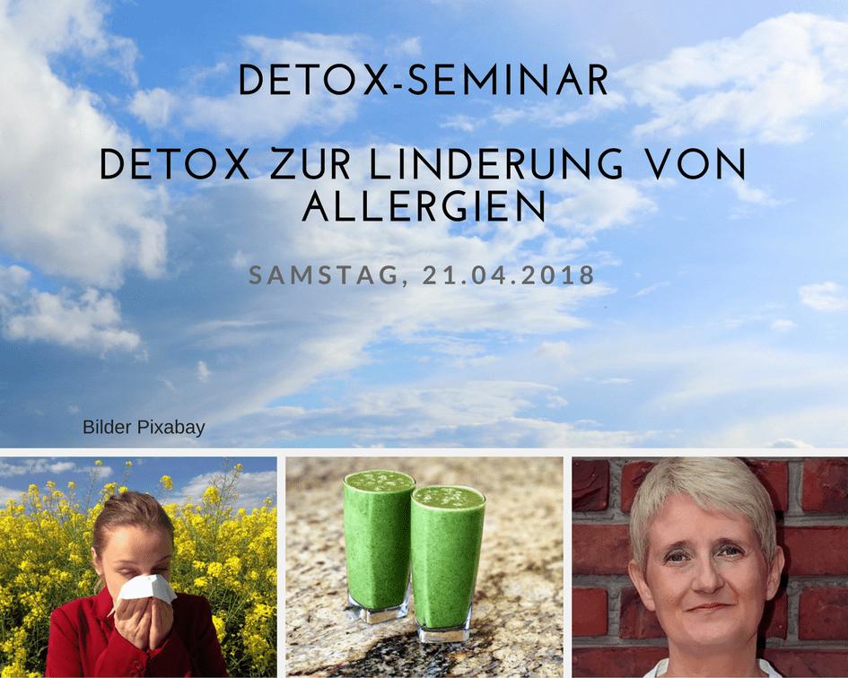 Detox zur Linderung von Allergien